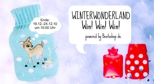 win win win winterwonderland heldenhaushalt. Black Bedroom Furniture Sets. Home Design Ideas