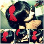Little red bow!