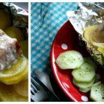 [Oishii] Lachs mit Kartoffeln in Alufolie