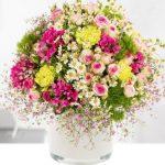 Ein Blumengruß für Mama
