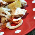 [Oishii] Hähnchenbrustfilet mit Country Kartoffeln