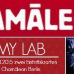 Gewinne einen Besuch im Chamäleon in Berlin