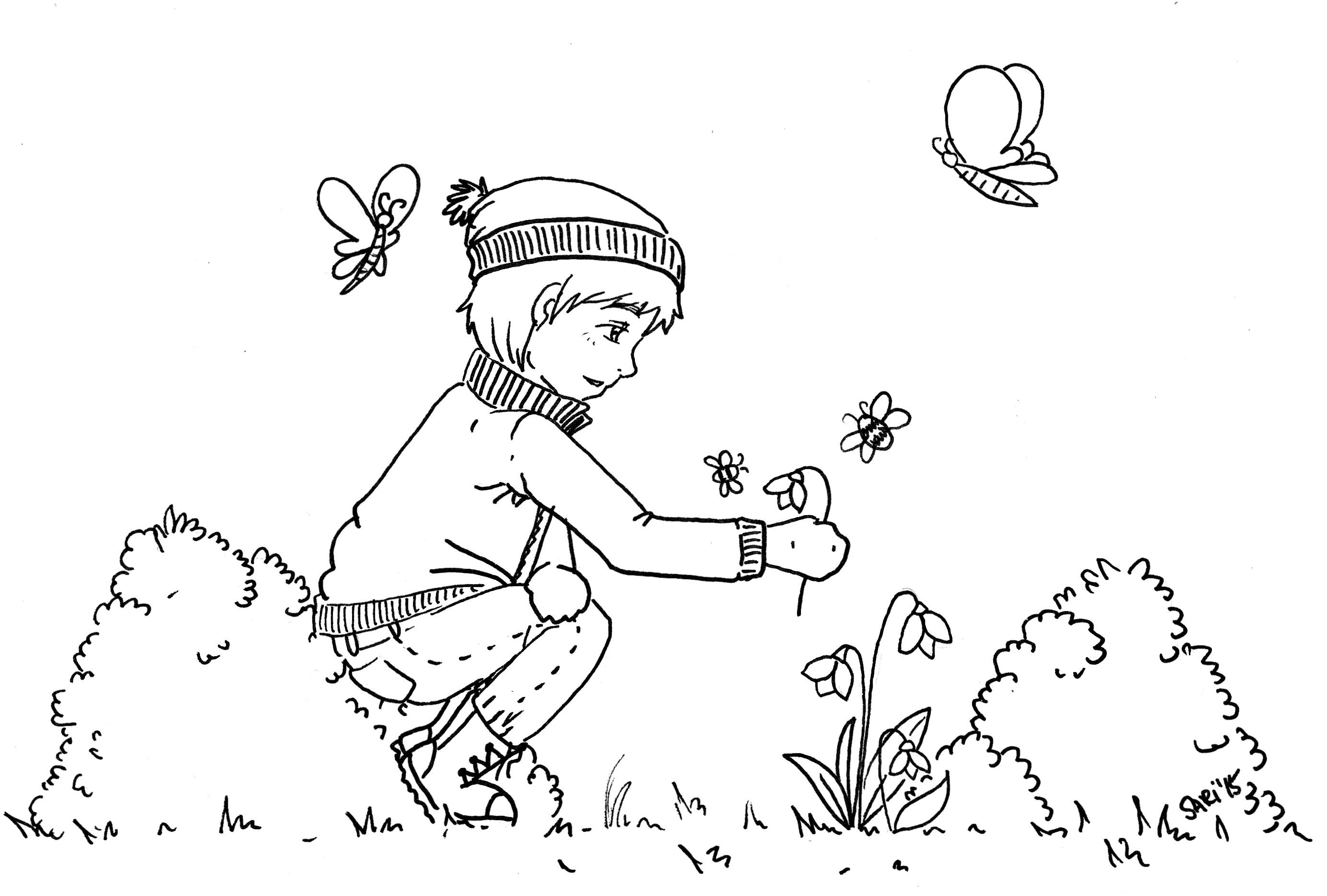 Ausmalbilder - Printables für große und kleine Künstler - Heldenhaushalt