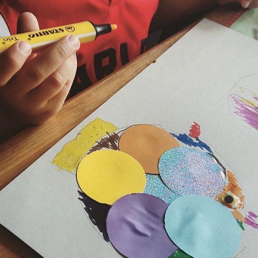 Diy Mit Kindern Wir Basteln Uns Einen Regenbogenfisch Heldenhaushalt