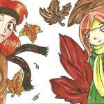 [Collab] Wir tanzen im Herbstlaub…