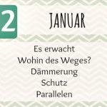 P52/16 – Die Themen im Januar 2016