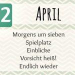 Projekt 52 – Die Themen & Linkparty für April