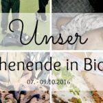 Unser WIB vom 07.-09.10.2016 – Toller Besuch, siegreiche Turniere und musikalische Krabbeltiere