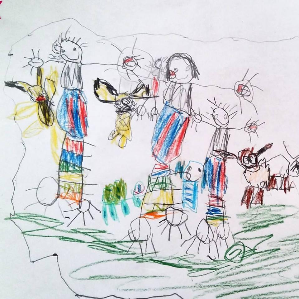 Kinderbilder erz hlen geschichten heldenhaushalt - Kinderbilder wand ...