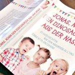 Jonas, nimm den Dinosauerier aus der Nase #Buchempfehlung
