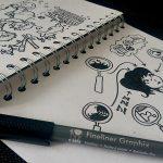 [Mmi] Sketchnotes und Comics zeichnen – Ein paar hilfreiche neue Bücher!