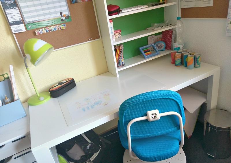 Mmi über Veränderungen Und Einen Schreibtisch Für Das Schulkind