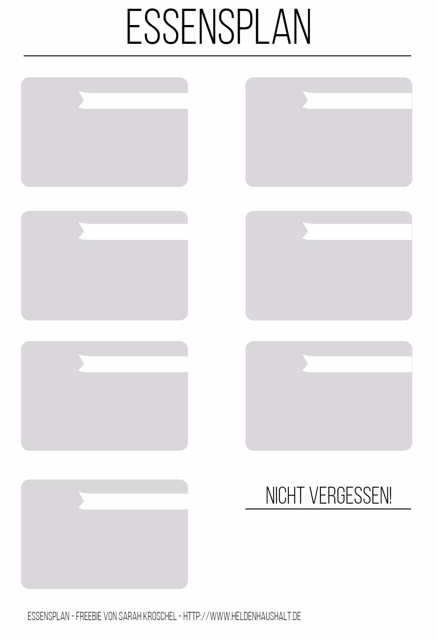 mmi wie ich anfing einen essensplan zu schreiben freebie heldenhaushalt. Black Bedroom Furniture Sets. Home Design Ideas