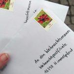 Wir schreiben dem Weihnachtsmann einen Brief…