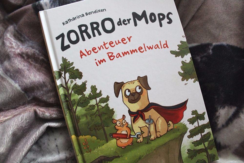 Zorro der Mops