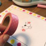 Lust auf niedliche Osterpost? Ganz schnell und einfach mit Washi Tape!