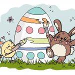 Ei feel good! – Wir wünschen frohe Ostern! #Ausmalbild