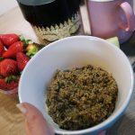 Mein erstes Mal Porridge mit kleinem Rezept