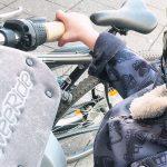 Mein Kind sitzt jetzt vorne auf dem Fahrrad mit dem Weeride! #Werbung