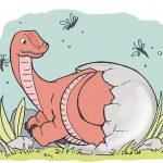 Auf den Spuren der Dinosaurier! Lust auf ein Ausmalbild?