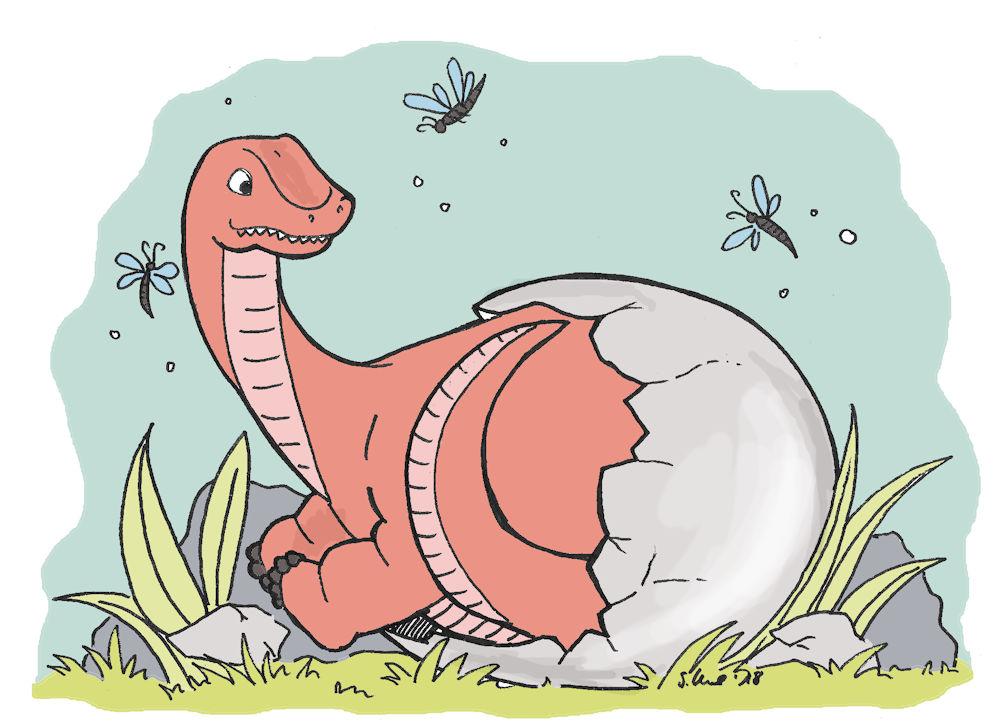 Auf Den Spuren Der Dinosaurier Lust Auf Ein Ausmalbild