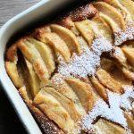Easy peasy super saftiger Apfelkuchen