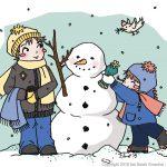 Jetzt noch Lust auf Schnee? #Ausmalbild