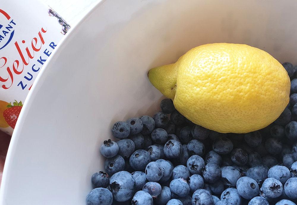 Heidelbeer-Marmelade