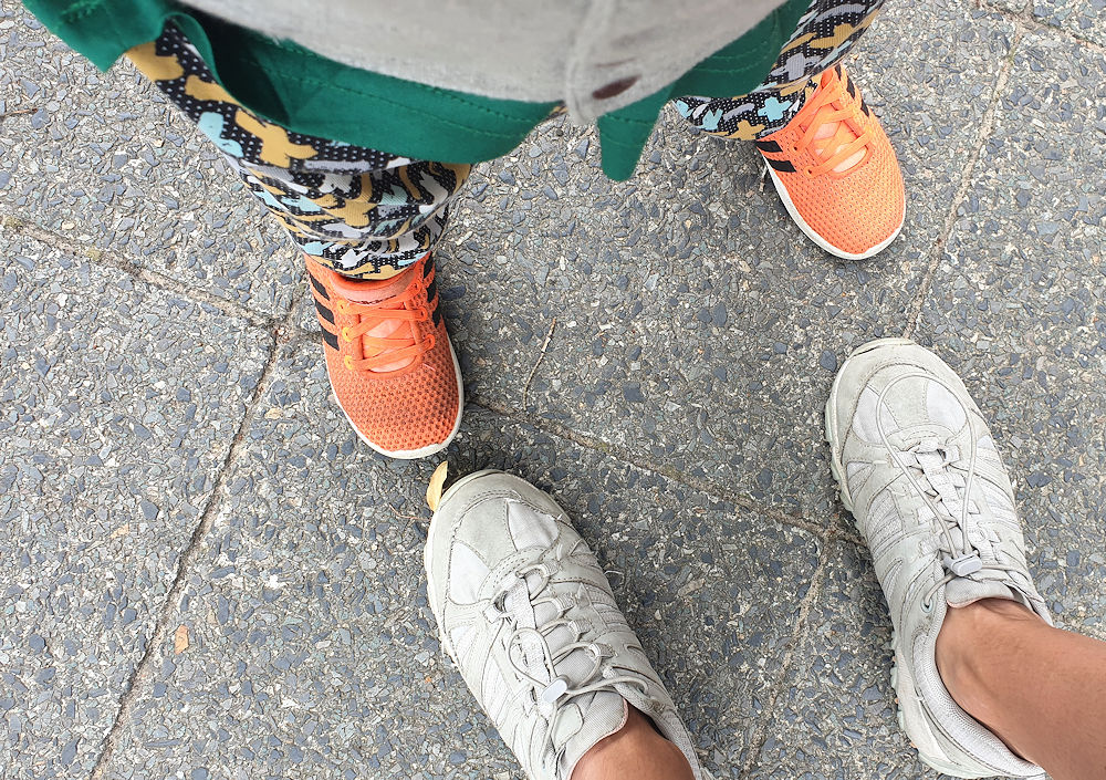 Fußfotos
