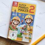 Baue deine eigene Welt mit Super Mario Maker 2 #Werbung #Gewinnspiel