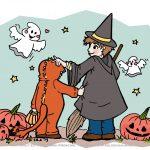 Happy Halloween – Auf dass es ein bunter Tag wird #Ausmalbild