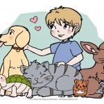 Creadienstag – Haustier – Sehnsüchte #Ausmalbild