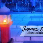 #bestofnine im Januar 2020 – Erstes Eis, Eislaufen und ein blauer Teppich