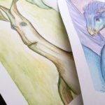 Creadienstag – Mama malt magische Wesen #02