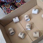 Creadienstag: Zählen üben mit dem Kugellabyrinth