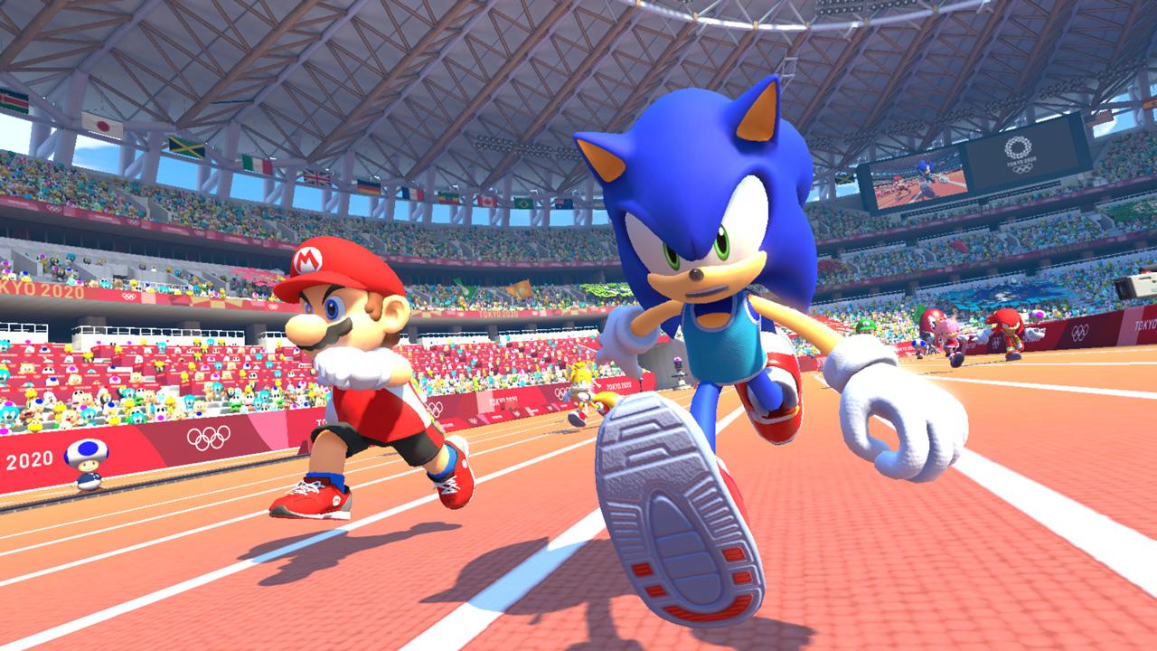 Olympische Spiele Zu Hause Mit Mario Sonic Werbung Gewinnspiel