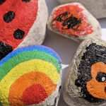 Creadienstag – Steine bemalen für Hoffnung und mehr…