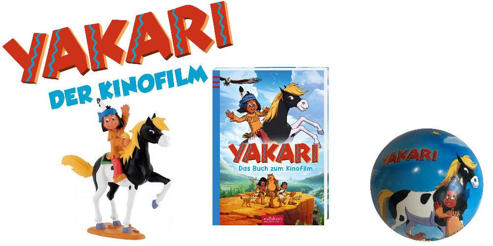 Yakari Gewinnspiel
