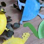 Creadienstag – Dinosaurier aus Pappteller