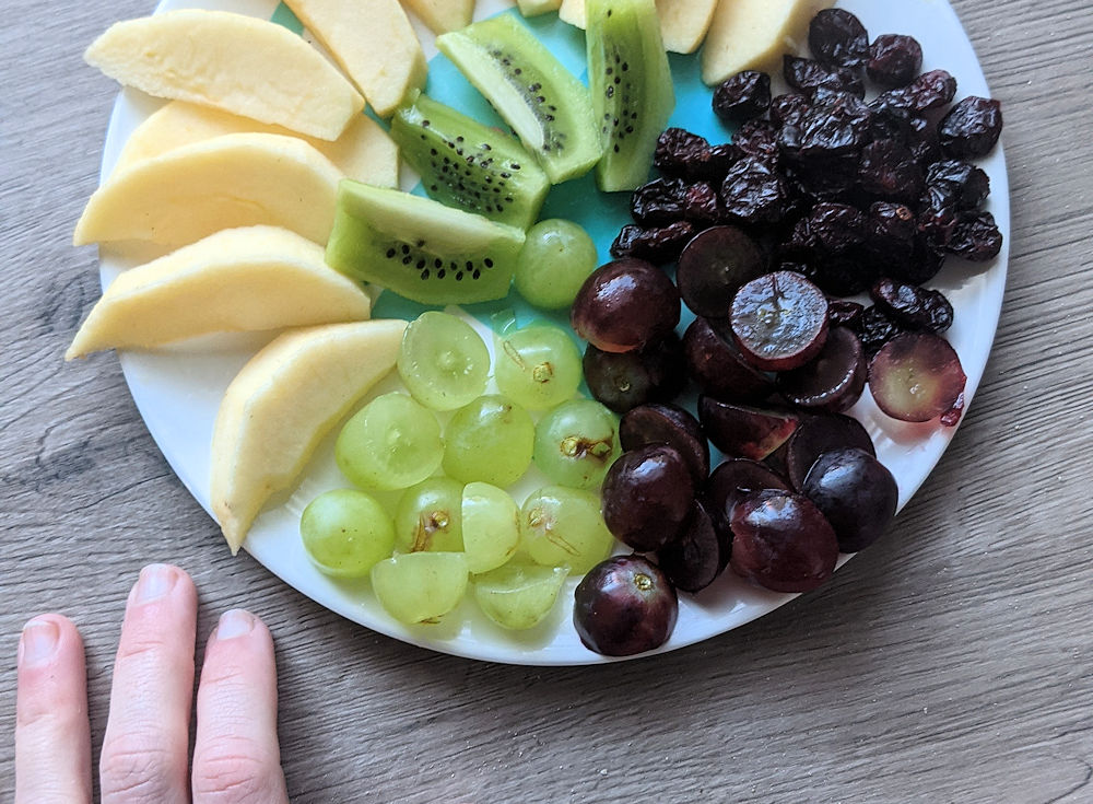Obst Mandala