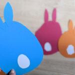Creadienstag – DIY Hasen ganz schnell und einfach für das Fenster