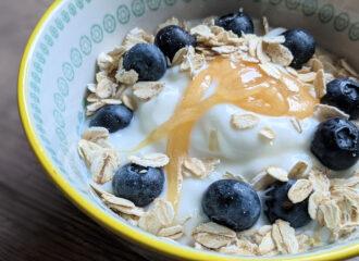 Heidelbeer Joghurt