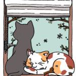 Creadienstag – Katzen und ihre seltsamen Vorlieben #Ausmalbild
