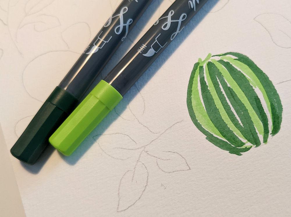 ONLINE Brush Pens
