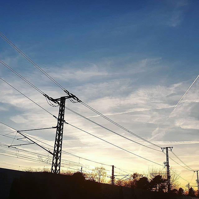 Die #Sonnenuntergänge sind im Moment einfach nur wunderschön. Besonders jetzt wo es so schön mild ist.